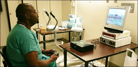Not Just For Fun Video Games Invade The OR Part Reality Evolved - Doc's video games